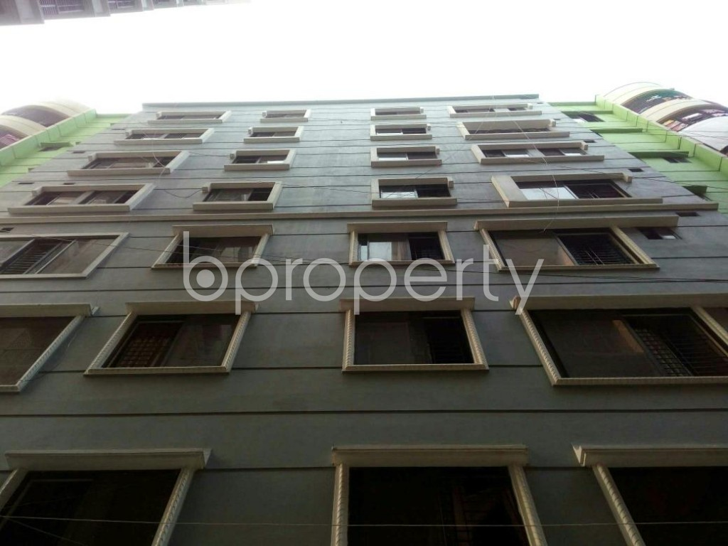Front view - 2 Bed Apartment for Sale in Cantonment, Dhaka - 1881280