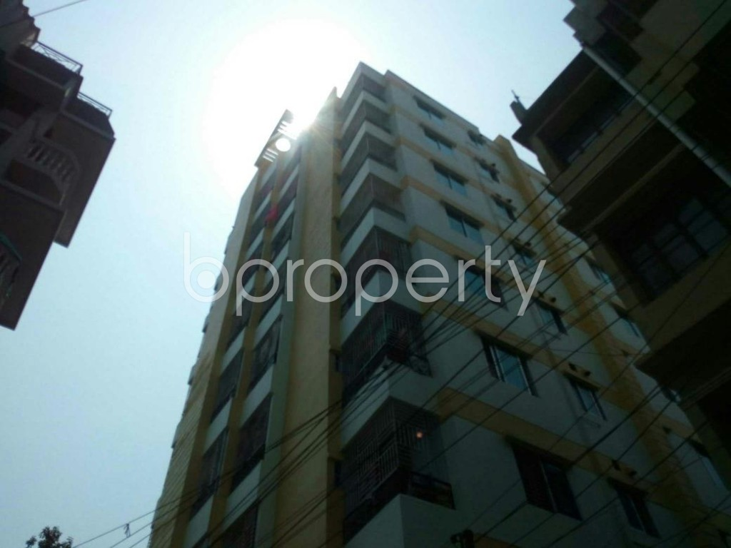 Outside view - 3 Bed Apartment for Sale in Bagichagaon, Cumilla - 1881341