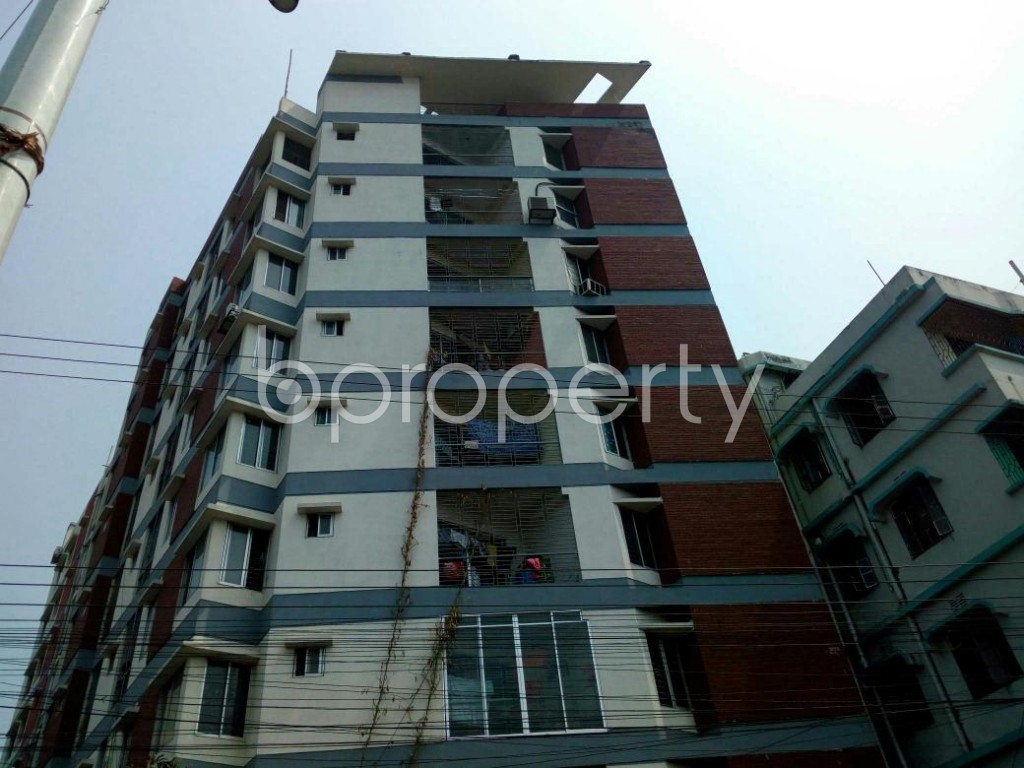 Front view - 3 Bed Apartment for Sale in Double Mooring, Chattogram - 1881654