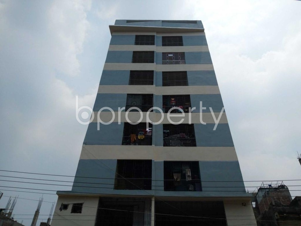 Front view - 3 Bed Apartment for Sale in Sutrapur, Dhaka - 1881755