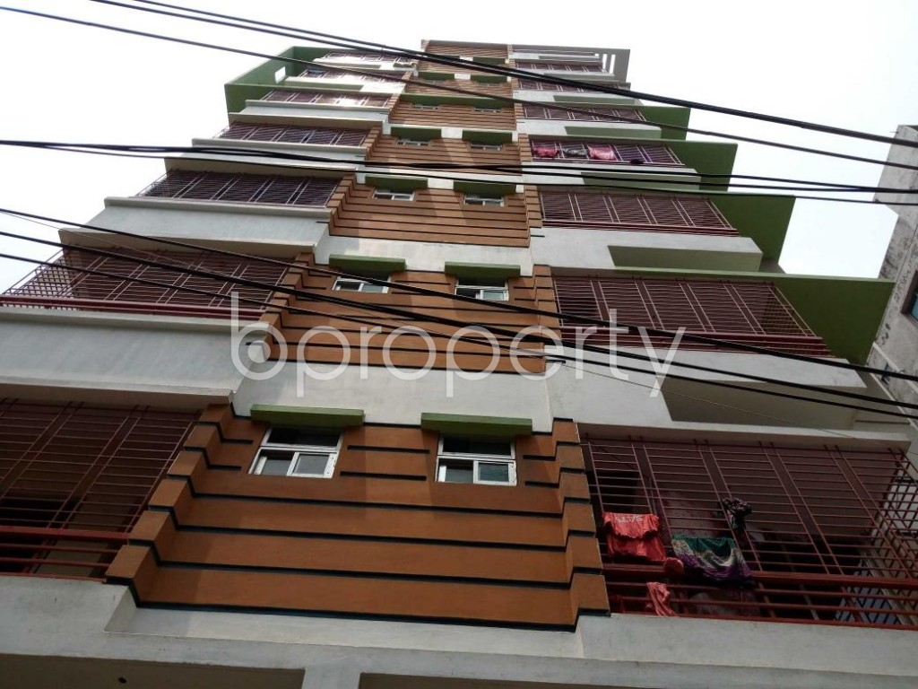 Front view - 2 Bed Apartment for Sale in Sutrapur, Dhaka - 1881881