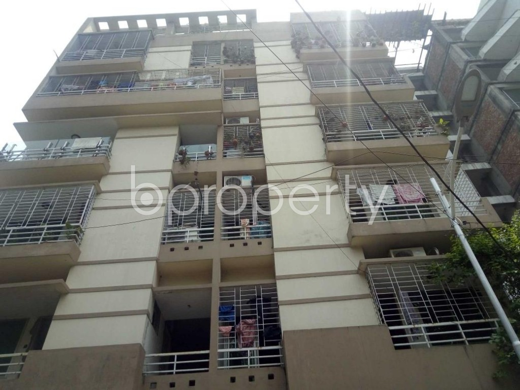 Front view - 3 Bed Apartment for Sale in Uttara, Dhaka - 1882015