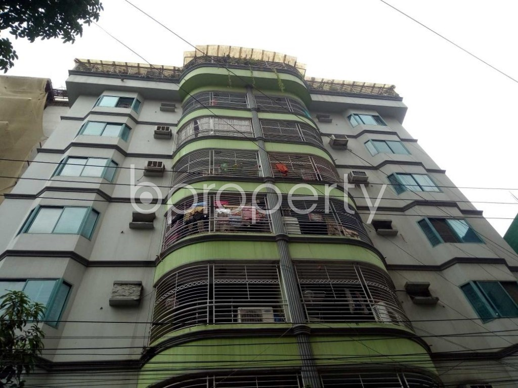 Front view - 3 Bed Apartment to Rent in Lalmatia, Dhaka - 1882318