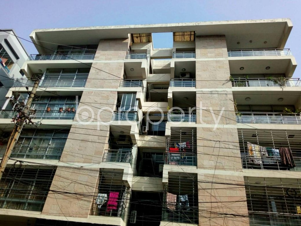 Front view - 3 Bed Apartment for Sale in Dhanmondi, Dhaka - 1882682
