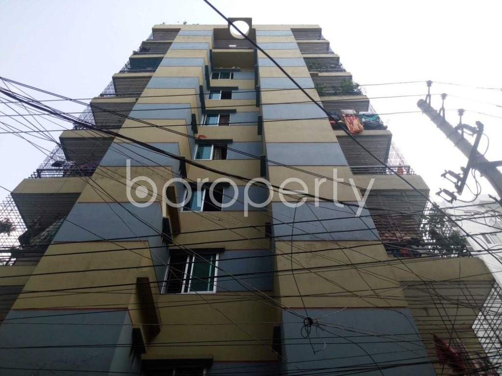 Front view - 3 Bed Apartment for Sale in Mohammadpur, Dhaka - 1883112