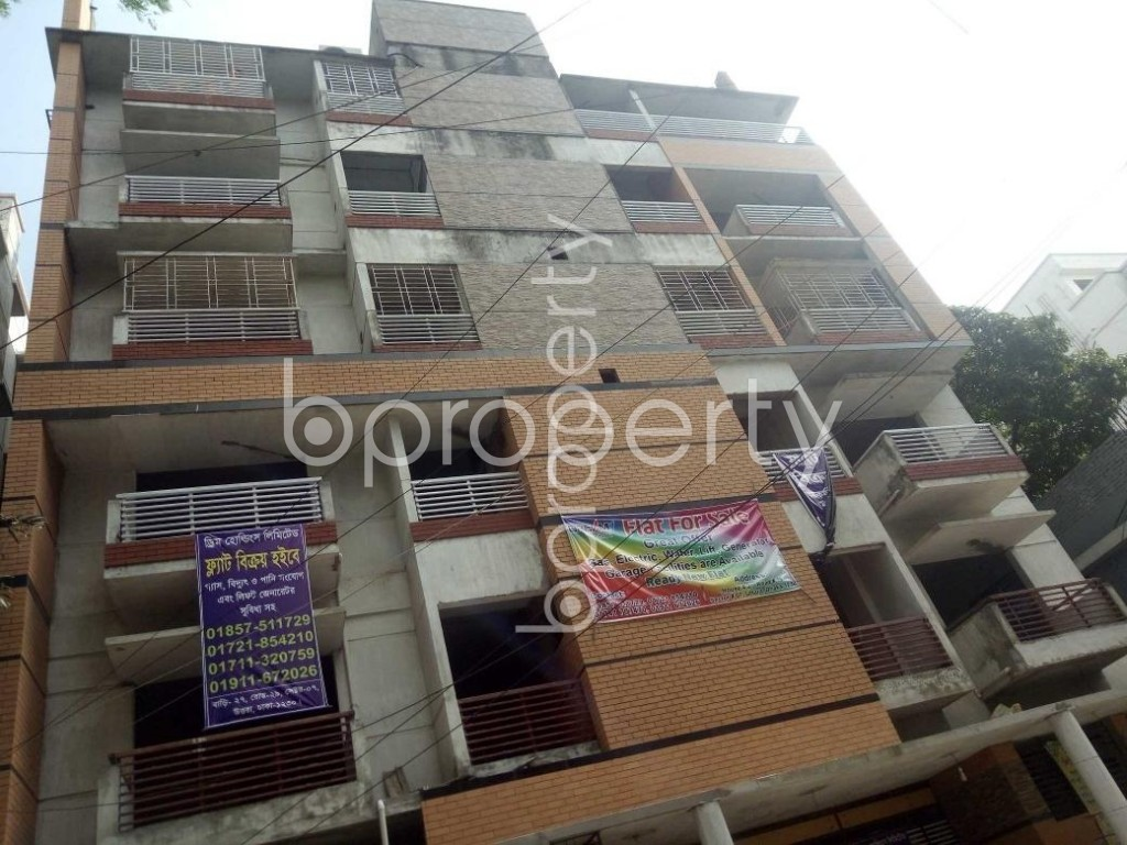 Front view - 3 Bed Apartment for Sale in Uttara, Dhaka - 1883275