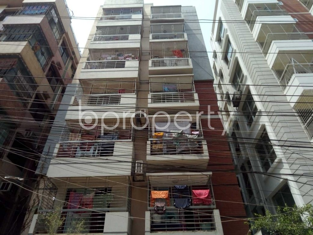 Front view - 3 Bed Apartment for Sale in Uttara, Dhaka - 1883574
