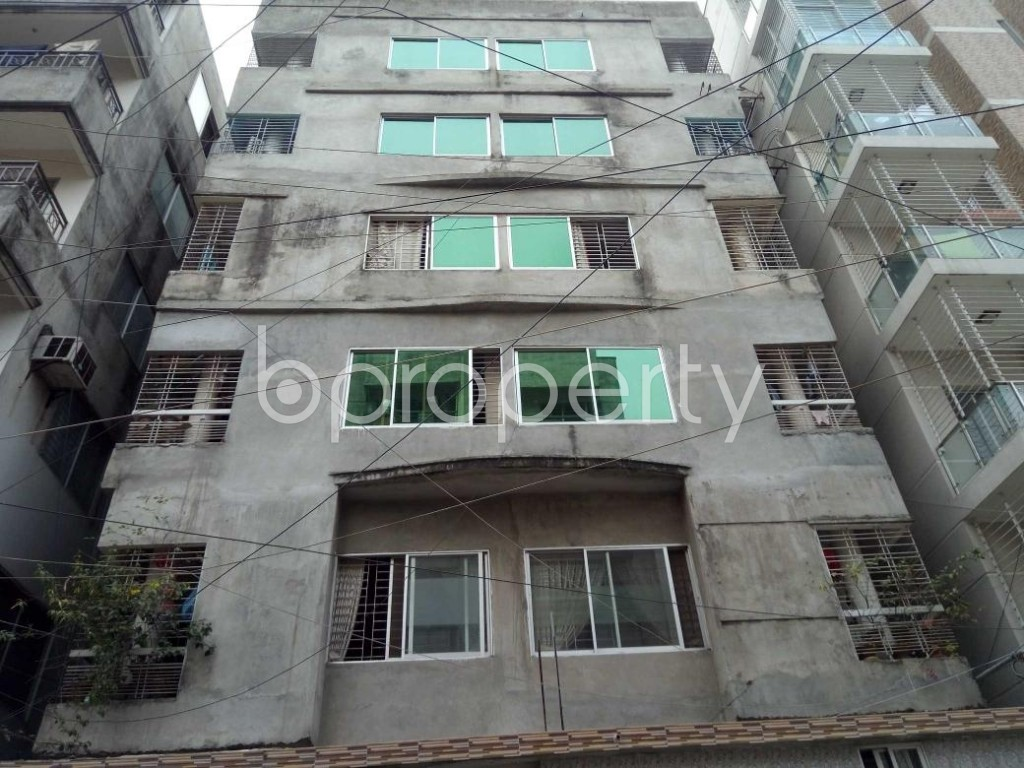 Front view - 2 Bed Apartment for Sale in Uttara, Dhaka - 1883576