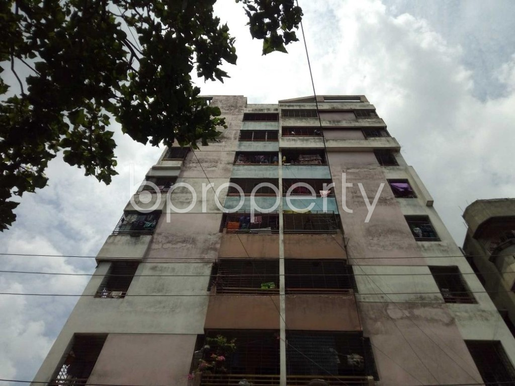 Front view - 3 Bed Apartment for Sale in Maniknagar, Dhaka - 1884040