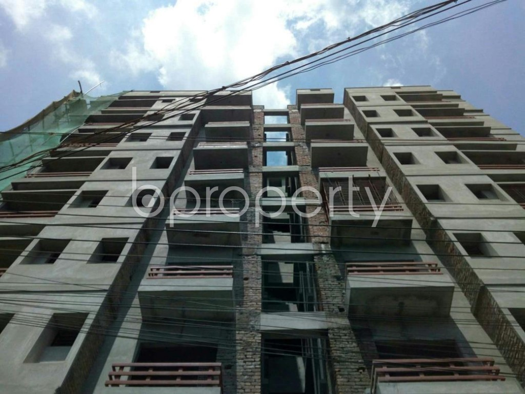 Front view - 3 Bed Apartment for Sale in Bagichagaon, Cumilla - 1884054