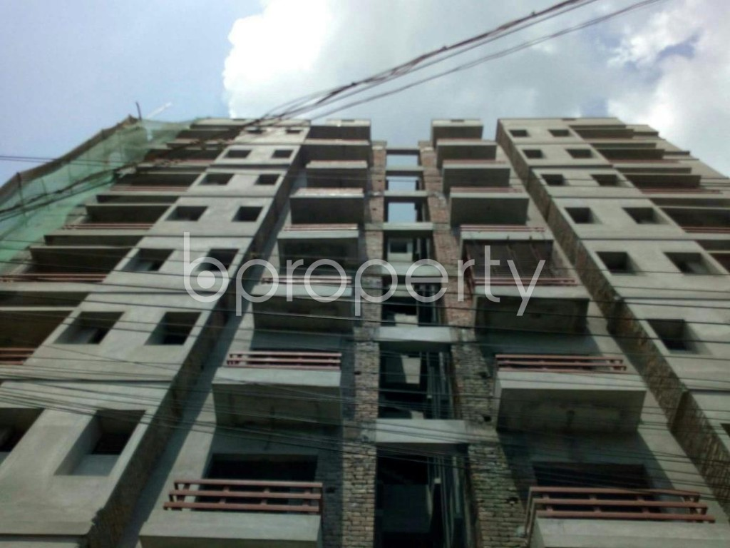 Front view - 3 Bed Apartment for Sale in Bagichagaon, Cumilla - 1884152