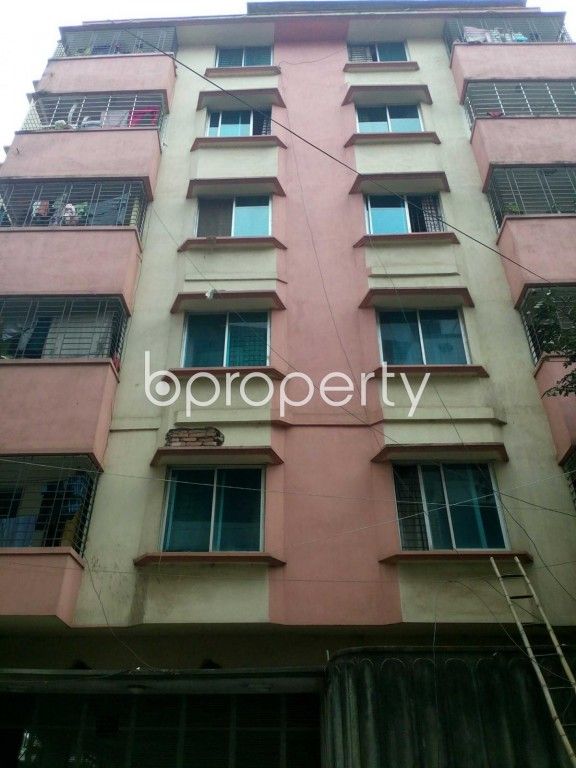 Front view - 4 Bed Apartment for Sale in Uttara, Dhaka - 1884380