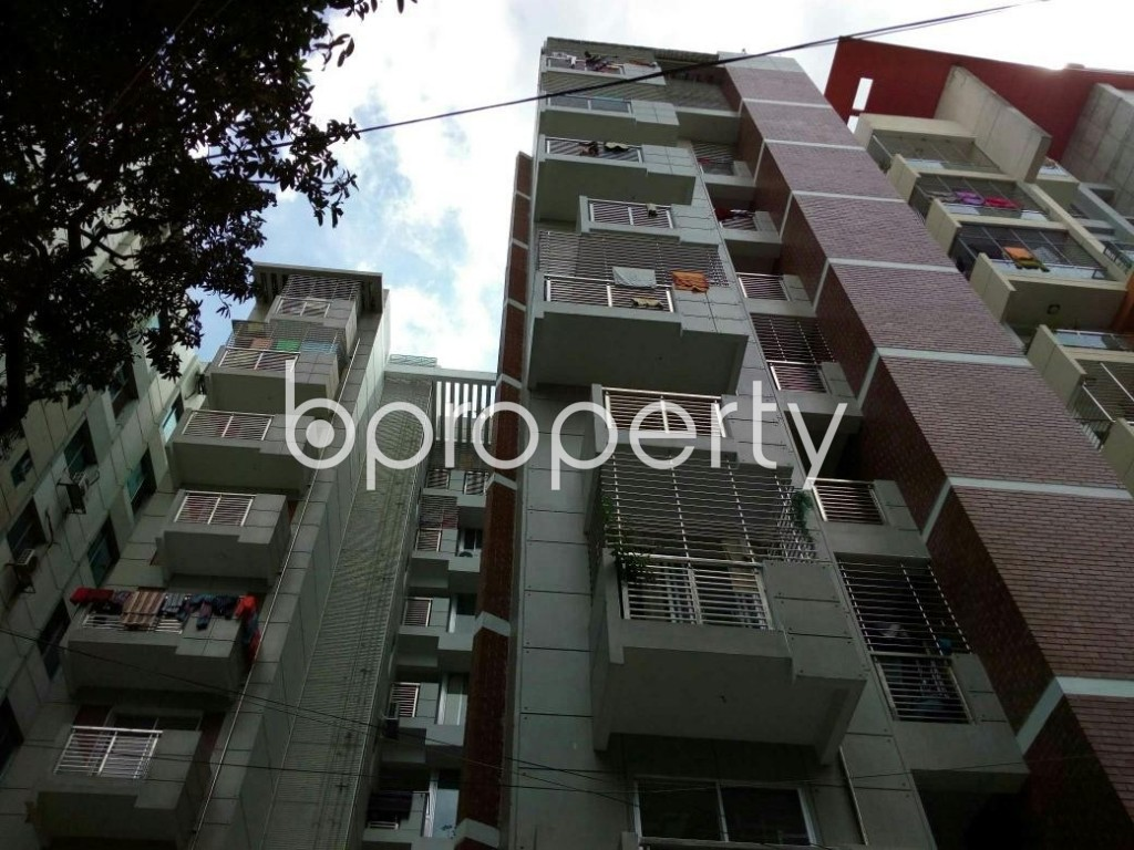 Front view - 3 Bed Apartment for Sale in Mohammadpur, Dhaka - 1884520