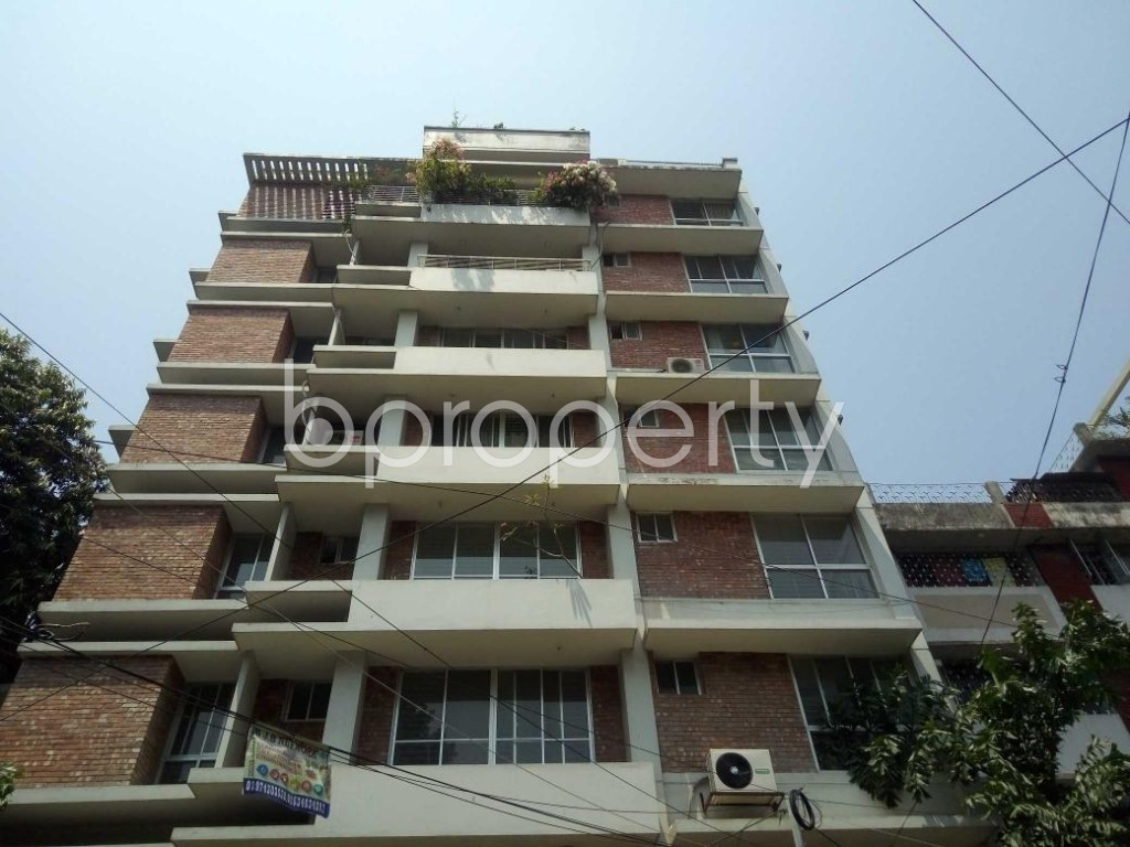 Front view - 3 Bed Apartment for Sale in Mohammadpur, Dhaka - 1884545