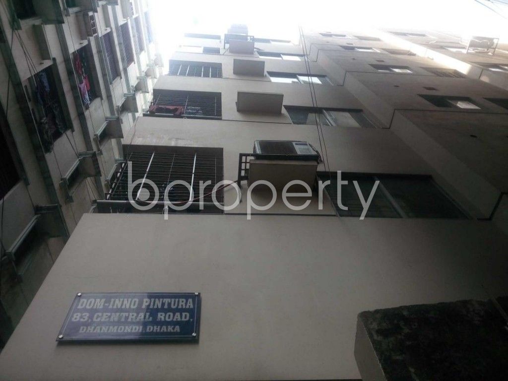 Front view - 3 Bed Apartment for Sale in Hatirpool, Dhaka - 1884756