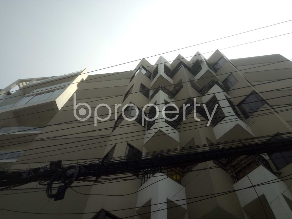 Outside view - 3 Bed Apartment to Rent in Baridhara, Dhaka - 1884837