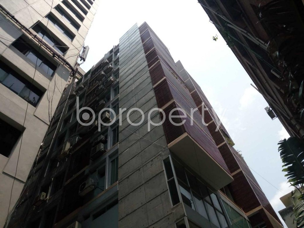Front view - 4 Bed Apartment for Sale in Shegunbagicha, Dhaka - 1885001