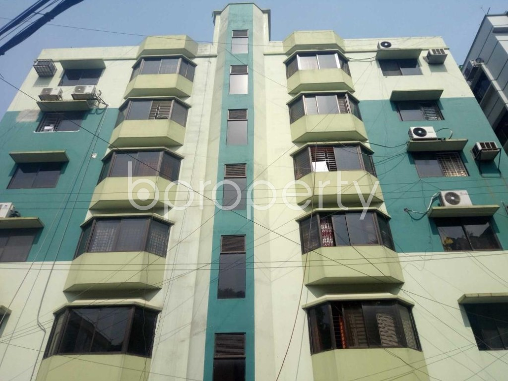 Front view - 3 Bed Apartment for Sale in Uttara, Dhaka - 1885274