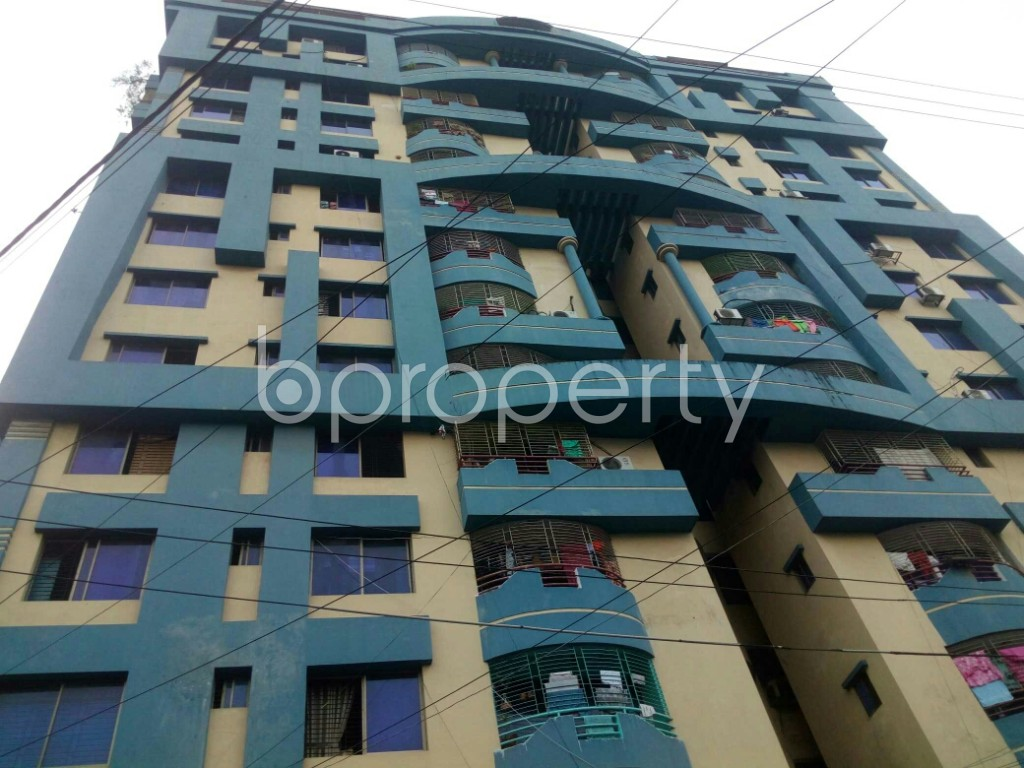 Outside view - 3 Bed Apartment for Sale in 15 No. Bagmoniram Ward, Chattogram - 1885280