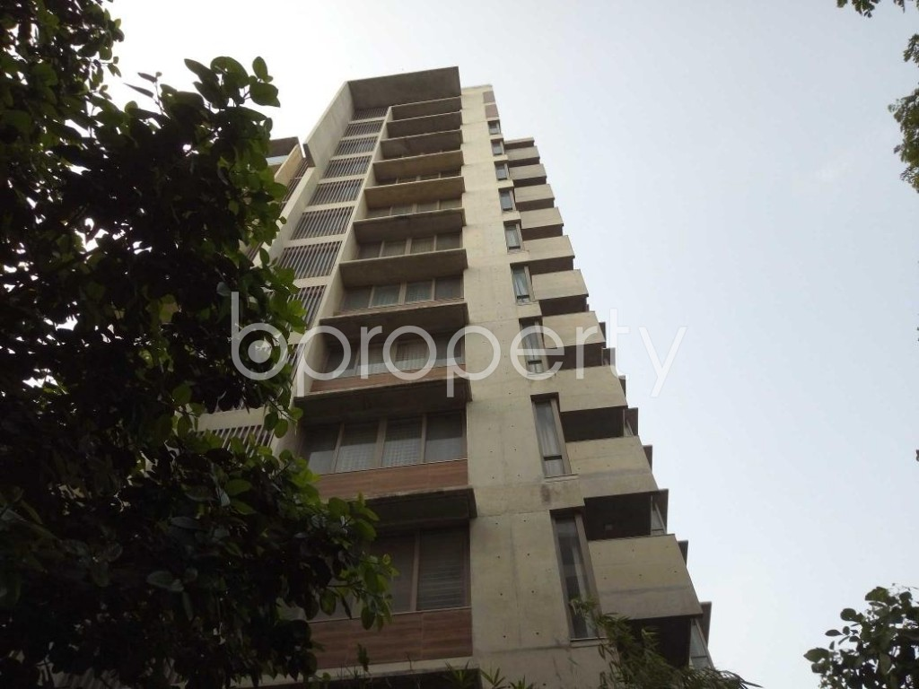 Front view - 4 Bed Duplex for Sale in Gulshan, Dhaka - 1885414