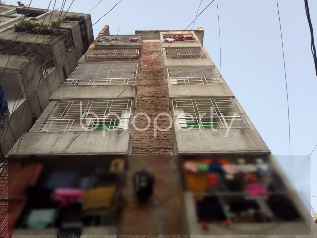 Front view - 3 Bed Apartment for Sale in Mohammadpur, Dhaka - 1885440