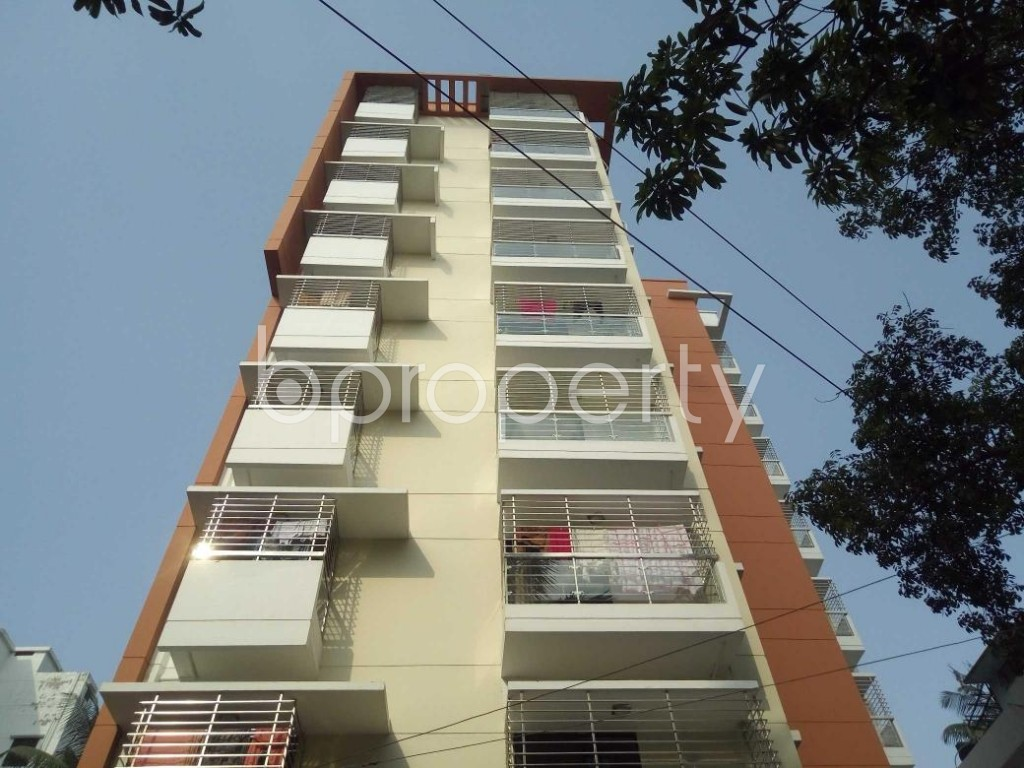 Front view - 3 Bed Apartment for Sale in Mohammadpur, Dhaka - 1885457
