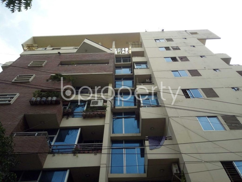 Front view - 3 Bed Apartment to Rent in Lalmatia, Dhaka - 1885574