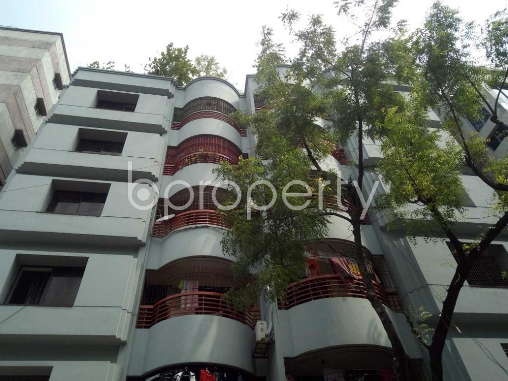 Front view - 3 Bed Apartment for Sale in Lalmatia, Dhaka - 1885606