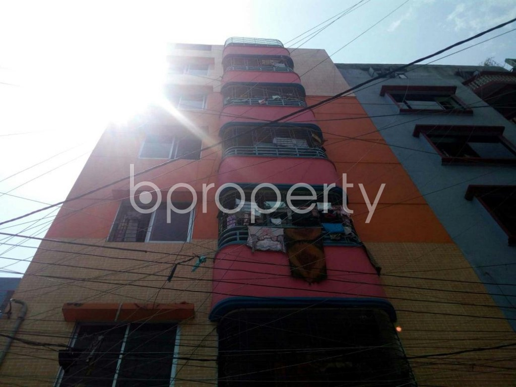 Front view - 2 Bed Apartment for Sale in Mirpur, Dhaka - 1885623