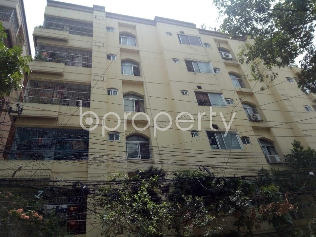 Front view - 3 Bed Apartment for Sale in Uttara, Dhaka - 1885652
