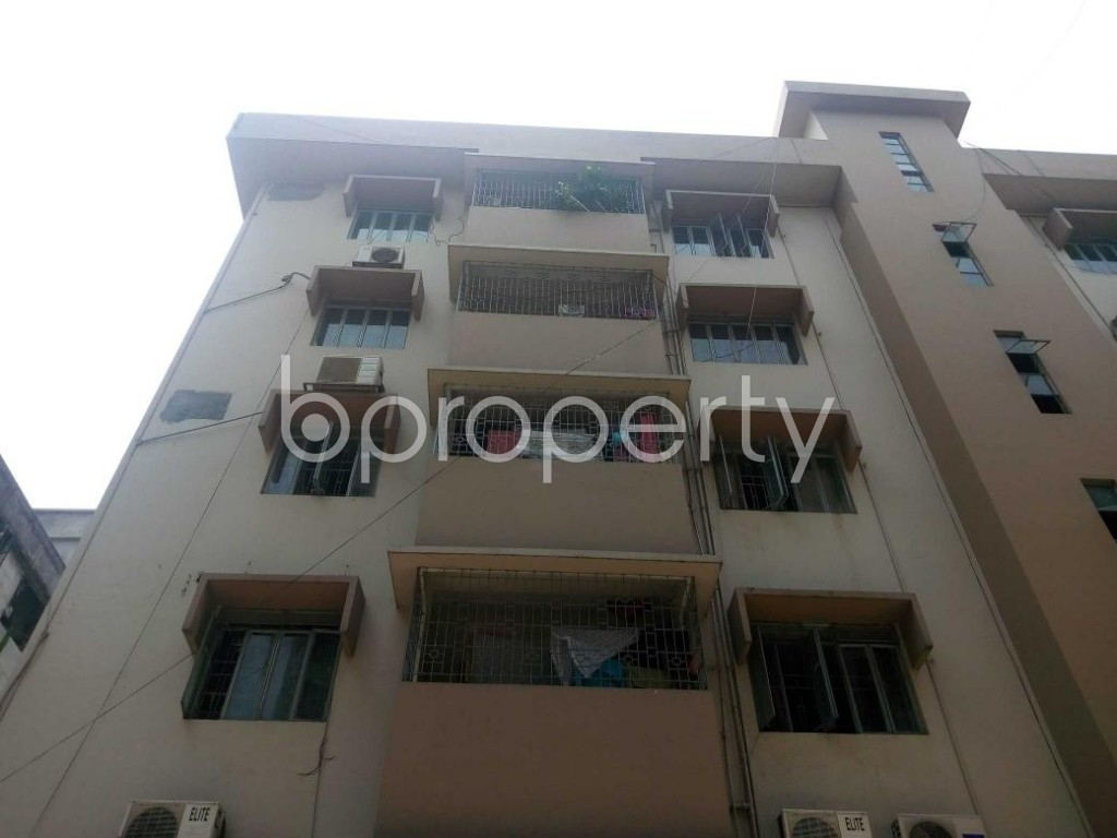 Front view - 3 Bed Apartment for Sale in Shegunbagicha, Dhaka - 1885655