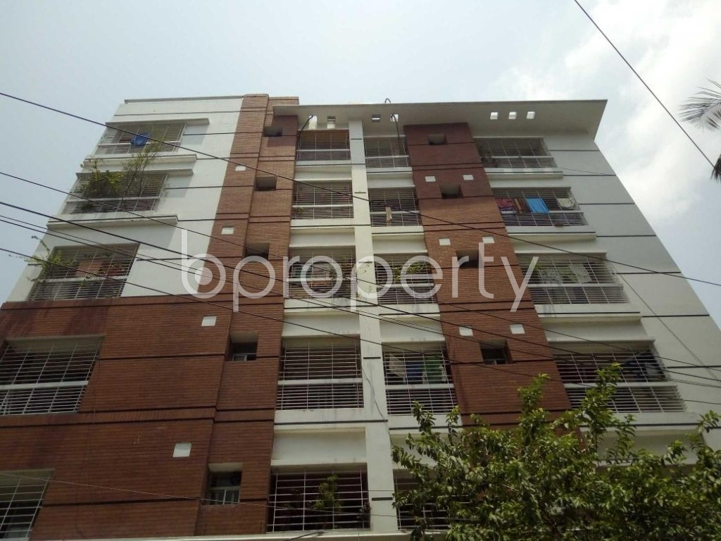 Front view - 3 Bed Apartment for Sale in Lalmatia, Dhaka - 1885679