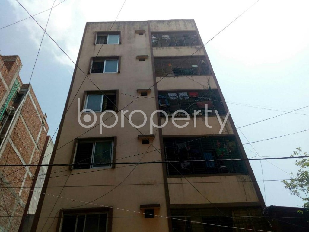 Front view - 2 Bed Apartment for Sale in Mirpur, Dhaka - 1885798