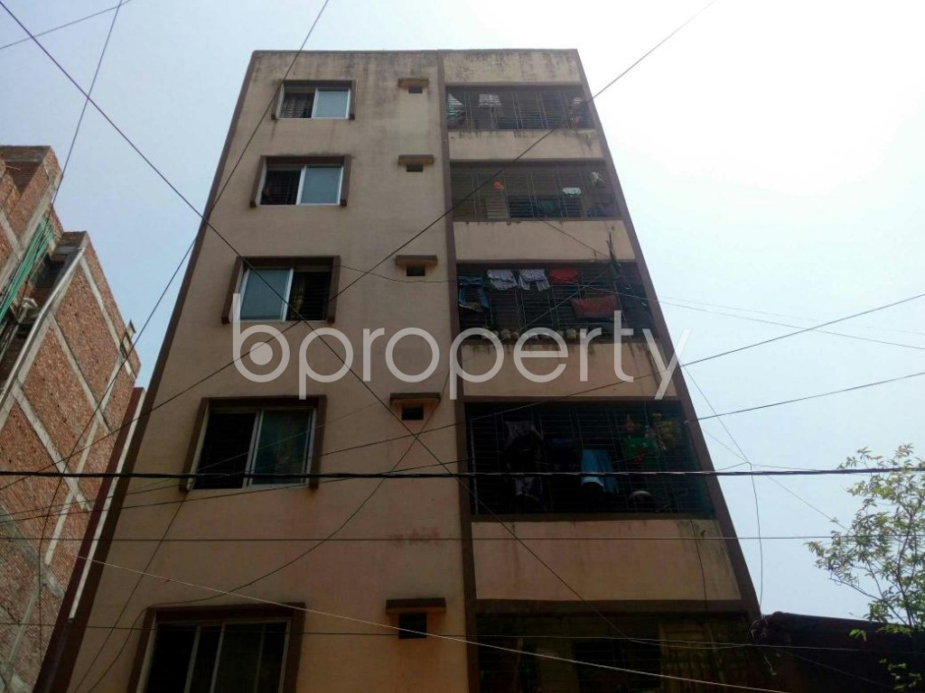 Front view - 4 Bed Apartment for Sale in Mirpur, Dhaka - 1885820