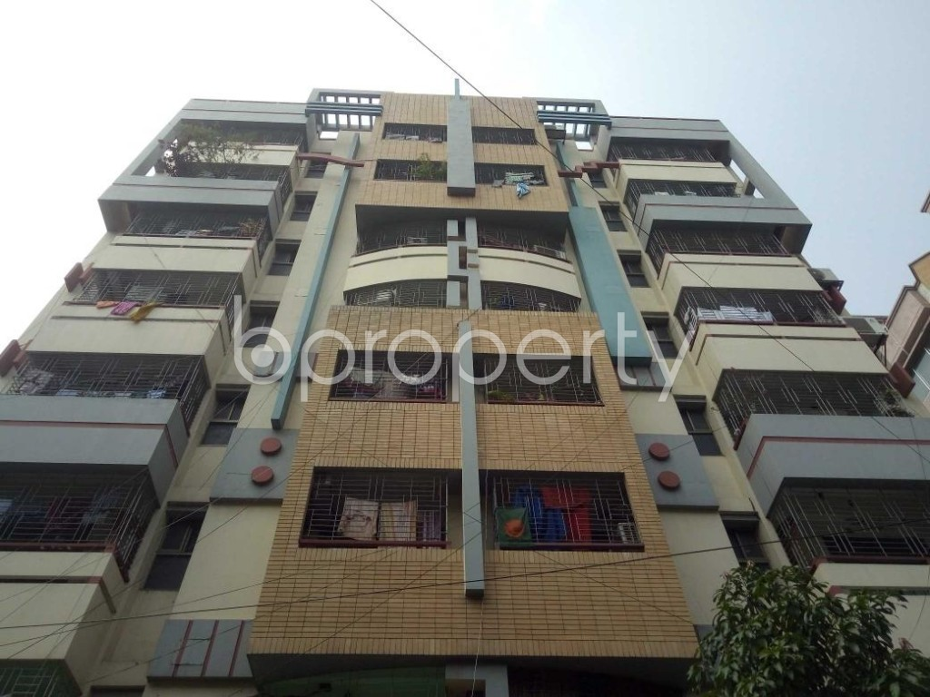 Front view - 3 Bed Apartment to Rent in Lalmatia, Dhaka - 1885833