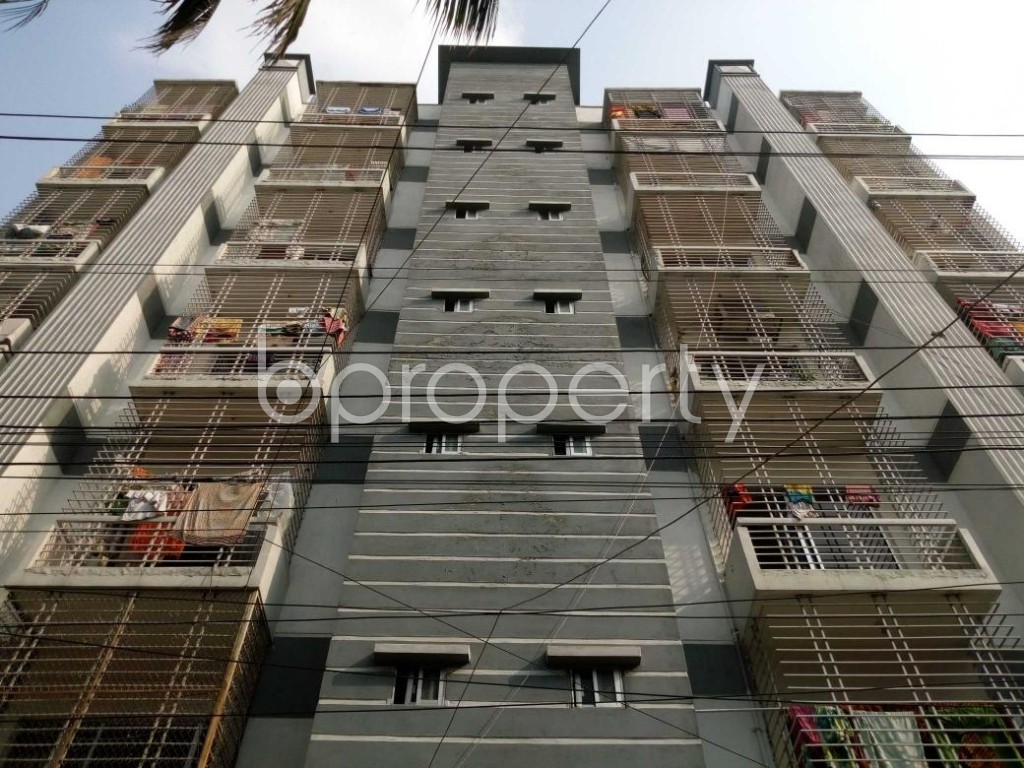Front view - 3 Bed Apartment for Sale in Mohammadpur, Dhaka - 1886039