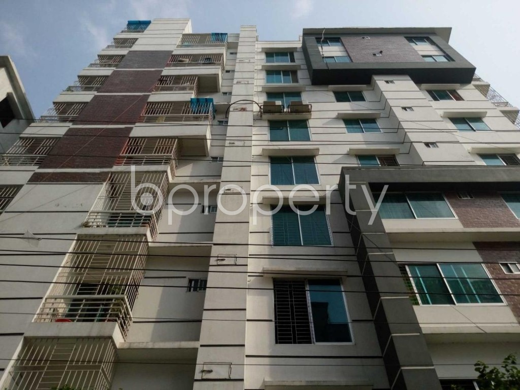 Front view - 3 Bed Apartment for Sale in Mohammadpur, Dhaka - 1886047