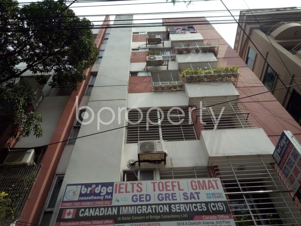 Front view - 3 Bed Apartment for Sale in Uttara, Dhaka - 1886049