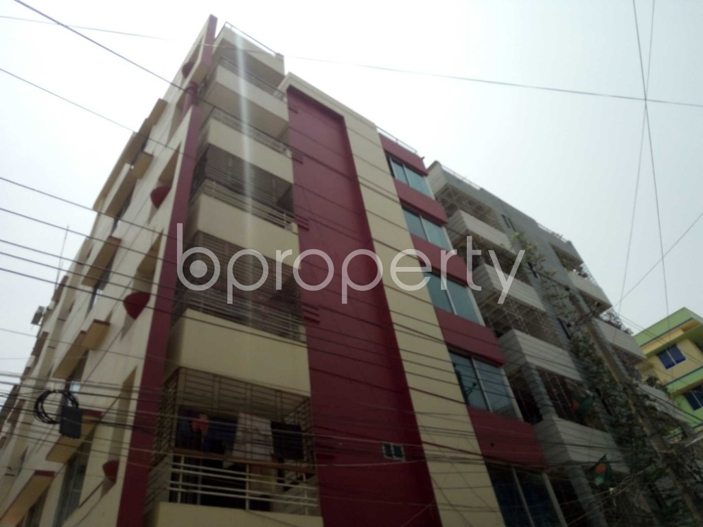 Outside view - 3 Bed Apartment for Sale in Uttara, Dhaka - 1886055