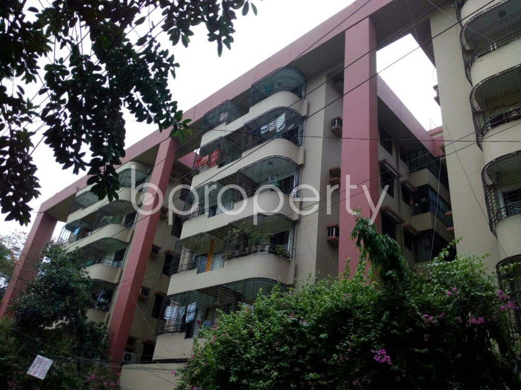 Outside view - 4 Bed Apartment to Rent in Dhanmondi, Dhaka - 1886110