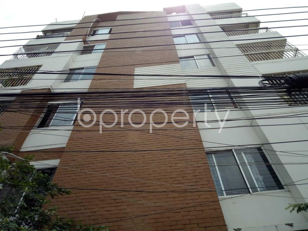 Front view - 3 Bed Apartment for Sale in Uttara, Dhaka - 1886129