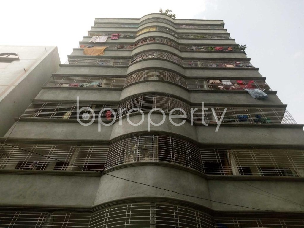 Front view - 2 Bed Apartment for Sale in Mohammadpur, Dhaka - 1886138
