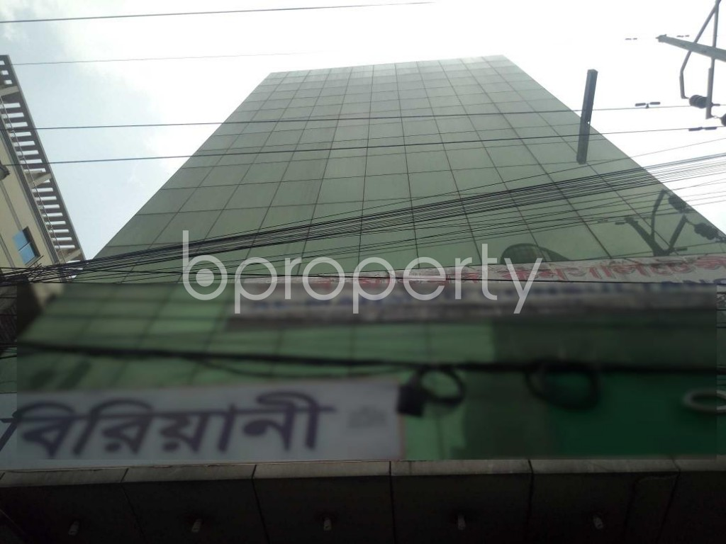 Outside view - Floor for Sale in Badda, Dhaka - 1886166