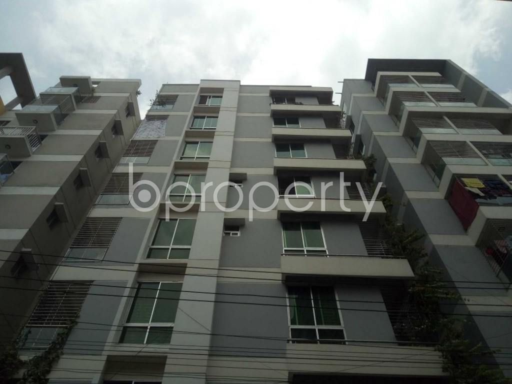 Front view - 3 Bed Apartment to Rent in Lalmatia, Dhaka - 1886172