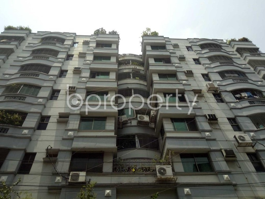 Front view - 3 Bed Apartment to Rent in Lalmatia, Dhaka - 1886216
