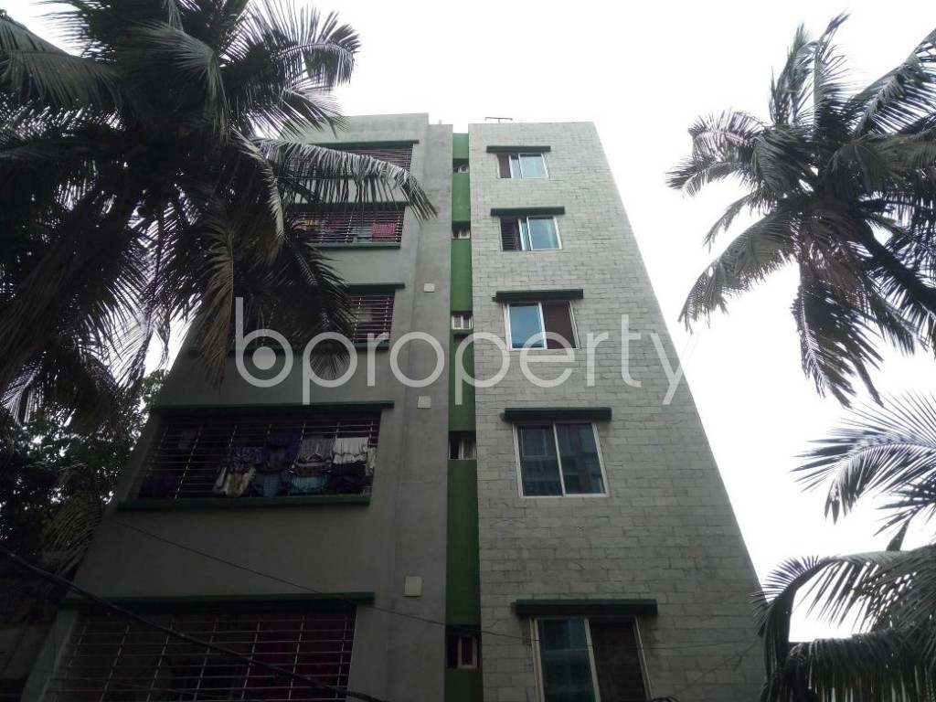 Front view - 2 Bed Apartment to Rent in Lalmatia, Dhaka - 1886282