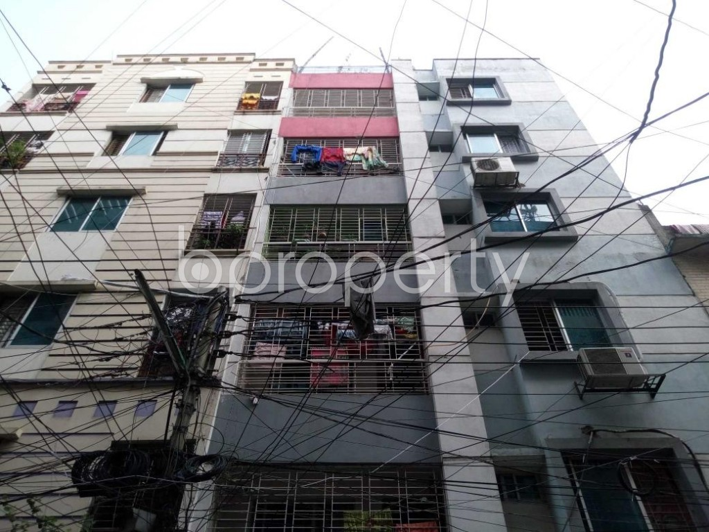 Front view - 2 Bed Apartment for Sale in Mohammadpur, Dhaka - 1874776