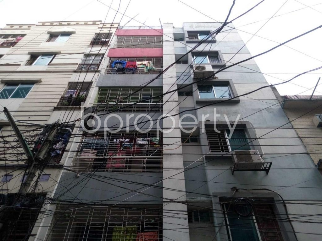 Front view - 3 Bed Apartment for Sale in Mohammadpur, Dhaka - 1886407