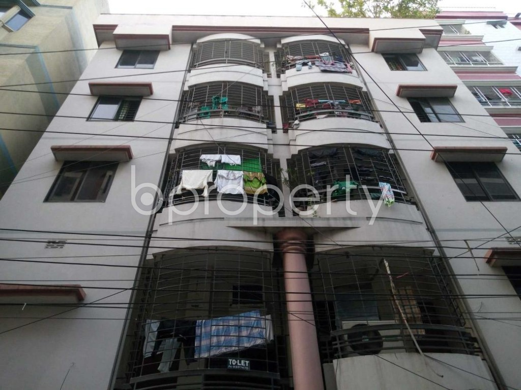 Front view - 2 Bed Apartment for Sale in Mohammadpur, Dhaka - 1886496