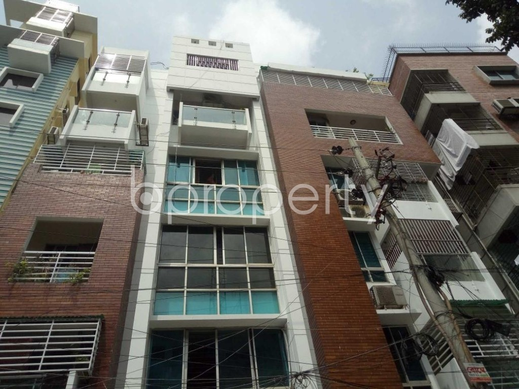 Front view - 3 Bed Apartment to Rent in Lalmatia, Dhaka - 1886541